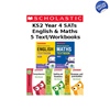 YEAR 4 LEARNING PACK [5 BOOKS] KS2 SATS TEXTBOOKS AND WORKBOOKS FOR MATHS AND ENGLISH
