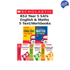 YEAR 5 LEARNING PACK [5 BOOKS] KS2 SATS ENGLISH & MATHS TEXTBOOKS AND WORKBOOKS