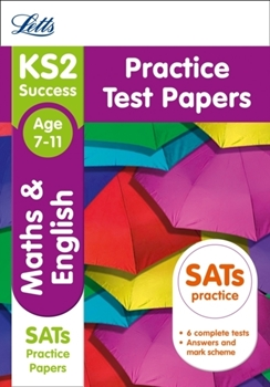 Letts year 6 KS2 Maths and English SATs Practice Test Papers : 2018 Tests