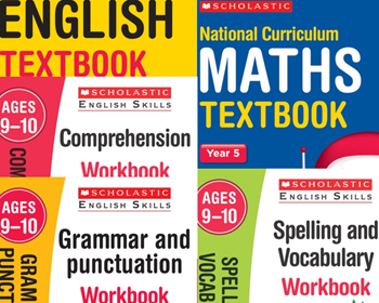YEAR 5 LEARNING PACK [5 BOOKS] KS2 SATS ENGLISH & MATHS TEXTBOOKS & WORKBOOKS