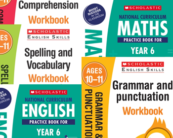 YEAR 6 KS2 SATS LEARNING PACK [5 BOOKS]. KS2 SATS 5 BOOKS FOR ENGLISH & MATHS