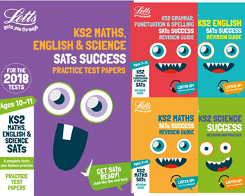 Letts Year 6 KS2 SATs Exam Revison Pack [5 BOOKS]