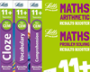 Letts CEM 11+ English and Maths Booster Pack [5 BOOKS]