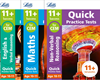 Letts CEM 11+ Quick Practice Tests Age 10-11 [3 Books]