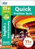 Letts CEM 11+ English Quick Practice Tests Age 10-11 [3 Books]