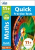 Letts CEM 11+ Maths Quick Practice Tests Age 10-11 [3 Books]