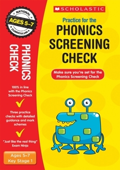 Scholastic KS1 Year 1 Phonics Screening Check x 30