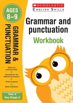 Scholastic KS2  English Skills: Grammar and Punctuation Workbook (Year 4) x 30