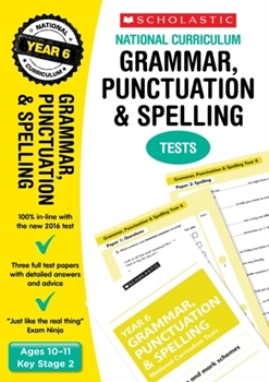 Scholastic KS2  English Skills: Grammar and Punctuation Workbook (Year 6) x 30
