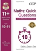 CGP CEM 11+ 10 minute Quick Maths Questions Age 10-11 Book 1