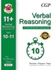 CGP CEM 11+ 10-Minute Tests (Age 10-11) Verbal Reasoning & Comprehension (Book 2)