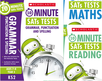 Year 3 SATs 10-minute  books