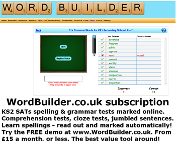 WordBuilder Subscription