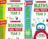 Scholastic KS3 Year Mock Test Pack [3 Books] Tests