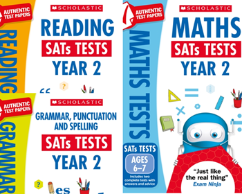 Scholastic KS2 Year 2 Mock Test Pack [3 Books]