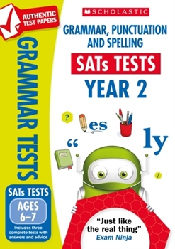 Scholastic National Curriculum KS1 SATs Tests: Grammar, Punctuation and Spelling (Year 2) x 30 [Class Pack]