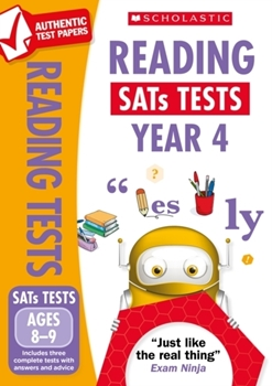 Scholastic National Curriculum KS2 SATs Tests: Reading Tests (Year 4) x 30