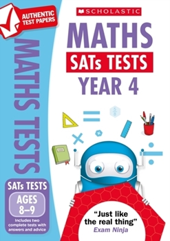 Scholastic National Curriculum KS2 SATs Tests: Maths (Year 4) x 30