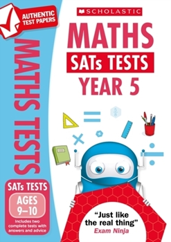 Scholastic National Curriculum KS2 SATs Tests: Maths (Year 5) x 30