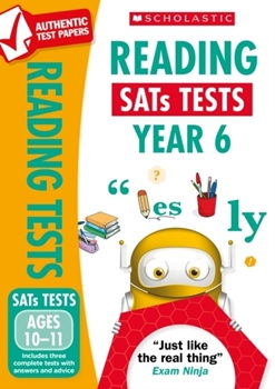 Scholastic National Curriculum KS2 SATs Tests: Reading Tests (Year 6) x 30