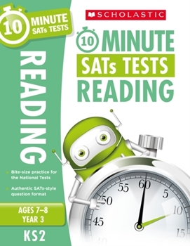 Scholastic KS2 10-Minute SATs Tests: Reading - Year 4 x 30