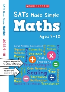 Scholastic SATs Made Simple: Maths (Ages 9-10) x 30 [Class Pack]