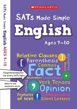 Scholastic SATs Made Simple: English (Ages 9-10) x 30 [Class Pack]