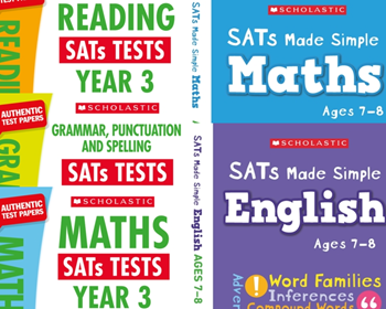 Scholastic KS3 Year 3 Exam Pack [5 Books] Mock Test and Revision Guides