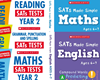 Scholastic Year 2 Exam Revision Pack [5 BOOKS] KS2 SATs revision guides and practice tests for Maths and English